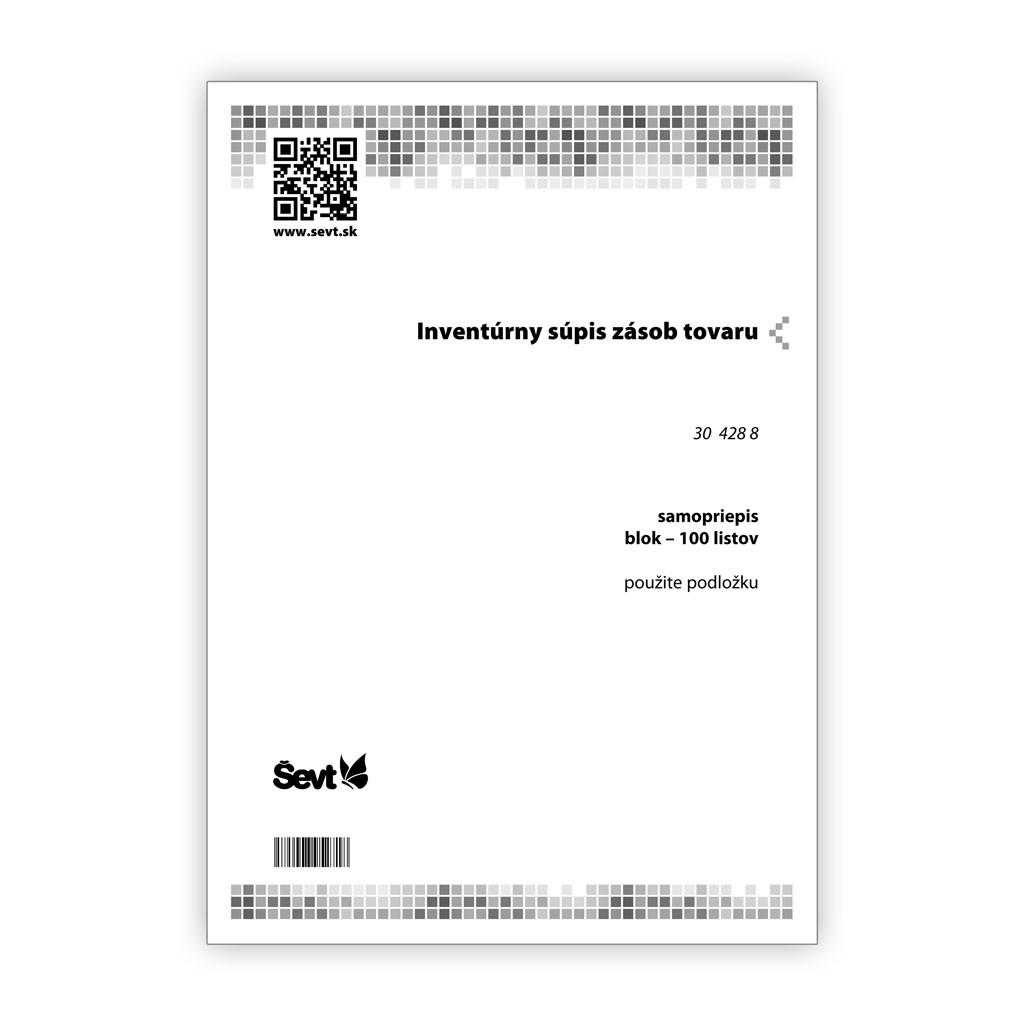 c1559920eaaf8 Inventúrny súpis zásob tovaru, samopriepis - ŠEVT a.s.