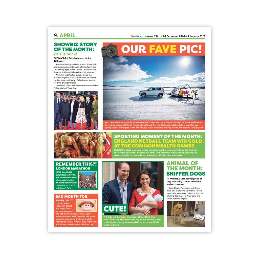 Anglické noviny pre deti a mladých ľudí First News – číslo 5 (654 2018 -  2019) - ŠEVT a.s. 7c106b7a89d