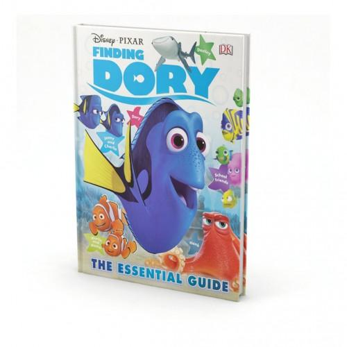 """Kniha v anglickom jazyku """"Disney Pixar – Finding Dory, The Essential Guide"""""""