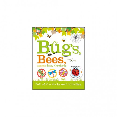 """Kniha v anglickom jazyku """"Bugs, Bees and Other Buzzy Creatures"""""""