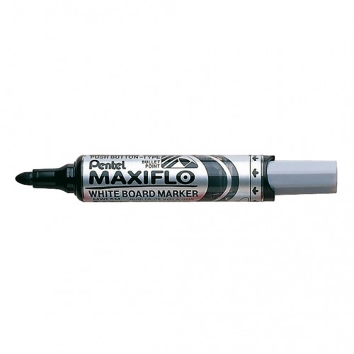 Popisovač na tabule Pentel Maxiflo MWL5M-A, 6 mm, čierny