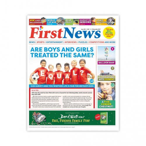 Anglické noviny pre deti a mladých ľudí First News – číslo 3 (594/ 2017)