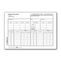 Skladová karta zásob (typ a) A5, 20 ks