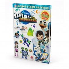"Kniha v anglickom jazyku s nálepkami ""Ultimate Sticker Collection: Miles from Tomorrowland"""