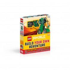 "Kniha v anglickom jazyku s hračkou ""LEGO® Ninjago – Build Your Own Adventure"""