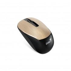 Myš Genius NX-7015, optická, 3-tlačítková, 1 koliesko, bezdrôtová, 1600dpi, zlatá