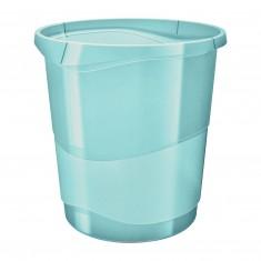 Odpadkový kôš Esselte Colour'Ice, 14 litrov, modrý