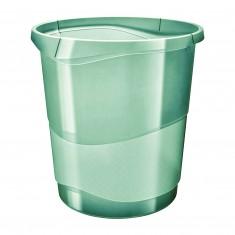 Odpadkový kôš Esselte Colour'Ice, 14 litrov, zelený