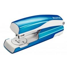 Zošívačka Leitz NeXXt WOW 5502, 24/6 a 26/6, kovová, 30 listov, metalická modrá