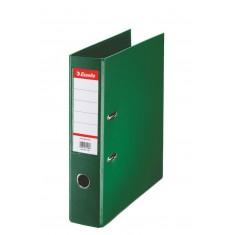 Zakladač pákový Esselte No.1 Power, A4, celoplastový, 7,5 cm, zelený