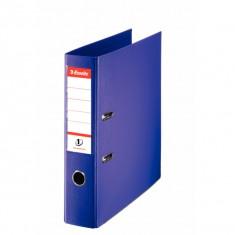 Zakladač pákový Esselte No.1 Power, A4, celoplastový, 7,5 cm, fialový