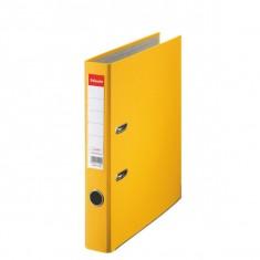 Zakladač pákový Esselte Economy, PP, A4, 5 cm, žltý