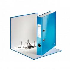 Zakladač pákový Leitz 180° WOW, A4, 5 cm, modrý