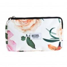 "Kozmetická taška Busquets ""BECOOL Roses"", 17,5 x 10 x 2 cm"