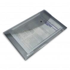Plastový bezpečnostný obal Rapesco, so zapínaním, A4, šedý