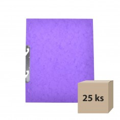 Rýchloviazač RZC, A4, prešpánový, fialový, 25 ks
