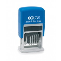 Samonamáčacia číslovacia pečiatka Colop S 126