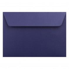 Farebné obálky C6 s odtrhávacou páskou, perleťové tmavomodré, 5 ks
