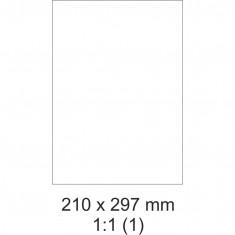 Etikety PRINT, 210 x 297 mm, 30 hárkov