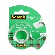 Lepiaca páska 3M Scotch® Magic™ neviditeľná, 19 mm x 7,5 m, s dispenzorom