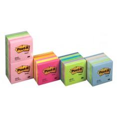 "Samolepiaci blok 3M Post-it® Rainbow ""mäta"", 76 x 76 mm, 100 listov, súprava 6 ks"