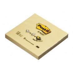 """Samolepiaci blok 3M Post-it®, skladaný do """"Z"""", 76 x 76 mm, 100 listov, žltý"""