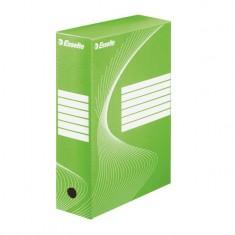 Box archívny Esselte Standart, 10 cm, zelený