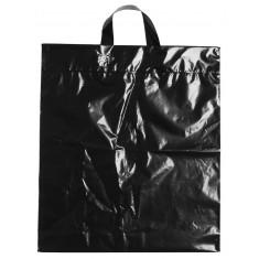 Igelitová taška s uchom,40 x 46 cm, čierna