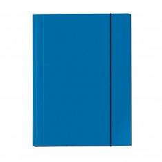 """Odkladacia mapa OM3 s gumou """"Velocolor"""", kartón, A3, modrá"""