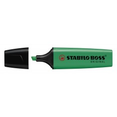 Zvýrazňovač Stabilo Boss Original 70-51, 2 – 5 mm, tmavozelený