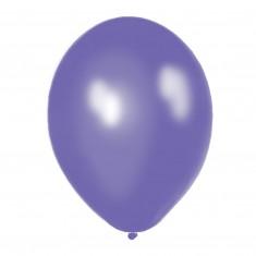 Balóny perleťovej levanduľovej farby, 8 ks