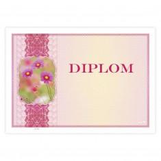 Diplom univerzálny, ružový