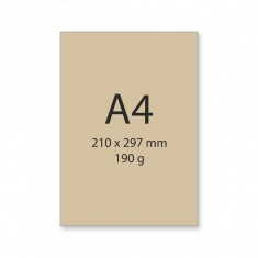 Výkres A4 recyklovaný, 200 g, 25 hárkov