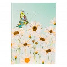 """Poznámkový zápisník Goldbuch """"Crystalline Blue"""", A5, 15 x 22 cm, 100 listov, čistý"""