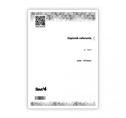 Zápisník referenta