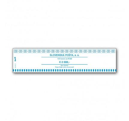T12251E - Peňažná páska na 20 EUR, 100 ks