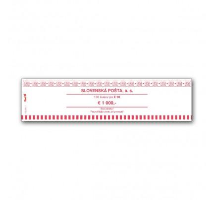 T12251T - Peňažná páska na 10 EUR, 100 ks