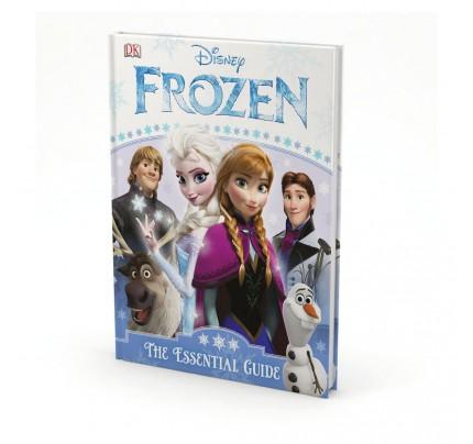 "Kniha v anglickom jazyku ""Disney – Frozen, The Essential Guide"""