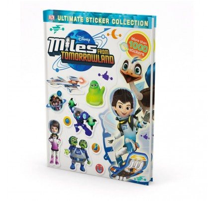 "Kniha v anglickom jazyku s nálepkami ""Ultimate Sticker Collection: Miles from Tomorrowland"""