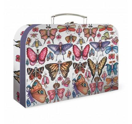 """Detský kufrík """"E. Čáková – motýle"""", 2020, veľký"""