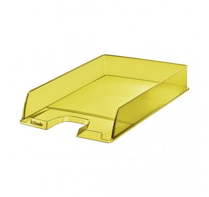 Stolová zásuvka Esselte Colour'Ice, žltá