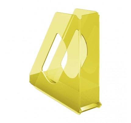 Stojan na spisy Esselte Colour'Ice, žltý