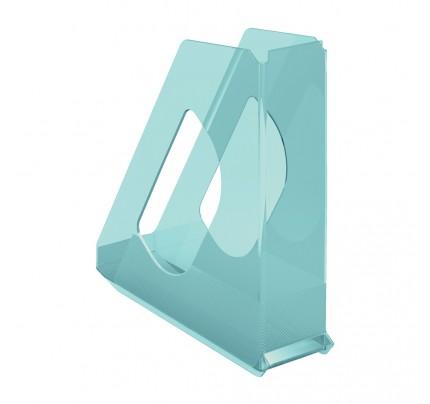 Stojan na spisy Esselte Colour'Ice, modrý