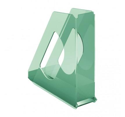 Stojan na spisy Esselte Colour'Ice, zelený