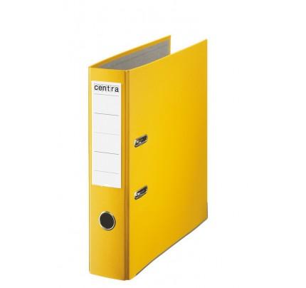 Zakladač pákový PP, A4, 7,5 cm, žltý