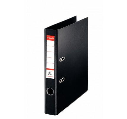 Zakladač pákový Esselte No.1 Power VIVIDA, A4, celoplastový, 5 cm, čierny