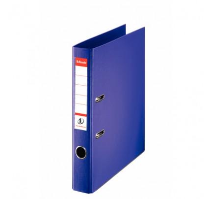 Zakladač pákový Esselte No.1 Power, A4, celoplastový, 5 cm, fialový