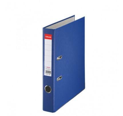 Zakladač pákový Esselte Economy, PP, A4, 5 cm, modrý