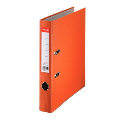 Zakladač pákový Esselte Economy, PP, A4, 5 cm, oranžový