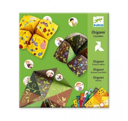 "Kreatívna súprava (origami) Djeco ""nebo, peklo, raj"""